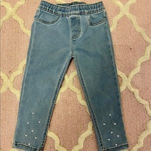 Other - ✨2/$20✨Like New Carter's jeans with sequins